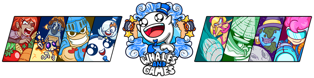Whales And Games Banner