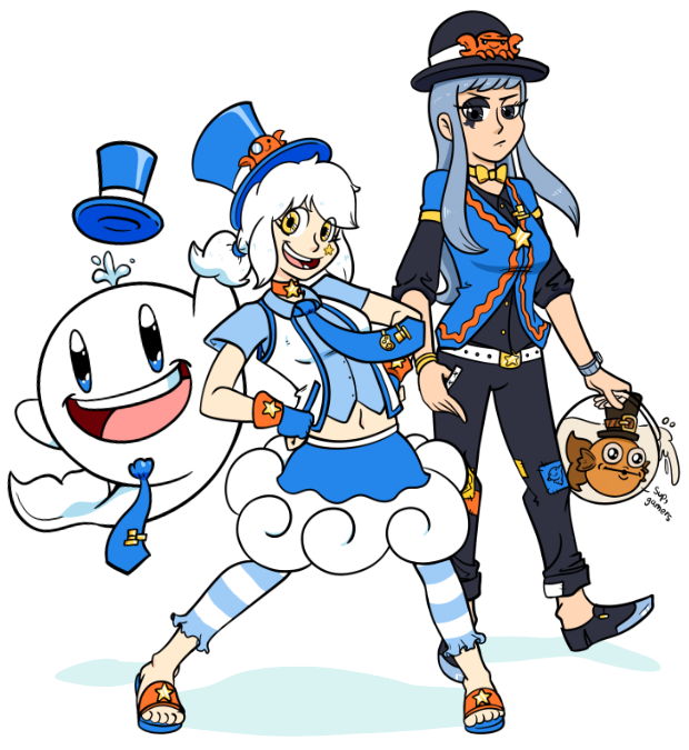 The Whales And Games Mascots