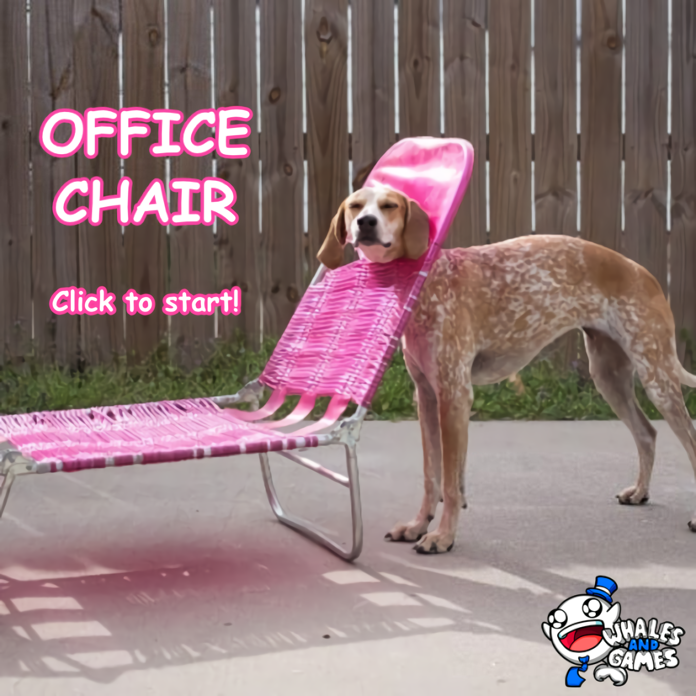 Mock Office Chair Image before we came up with the final Woofice Chair