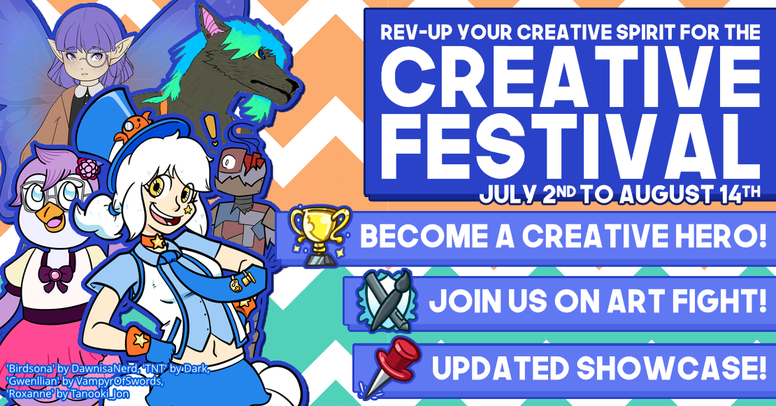 Rev-up your creative spirit for the Creative Festival!
