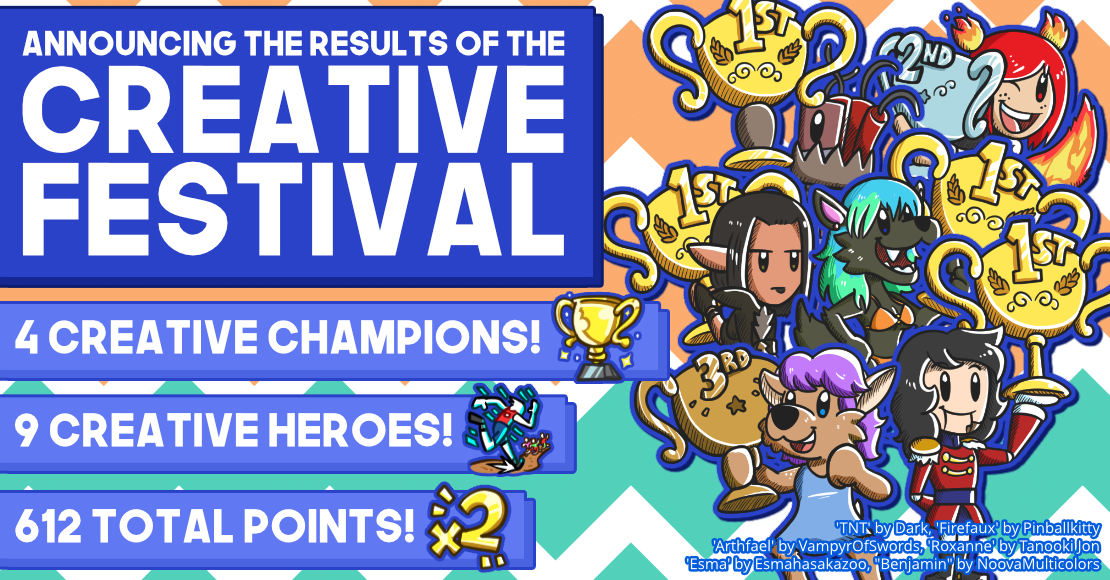 Announcing the Results of the Creative Festival Banner