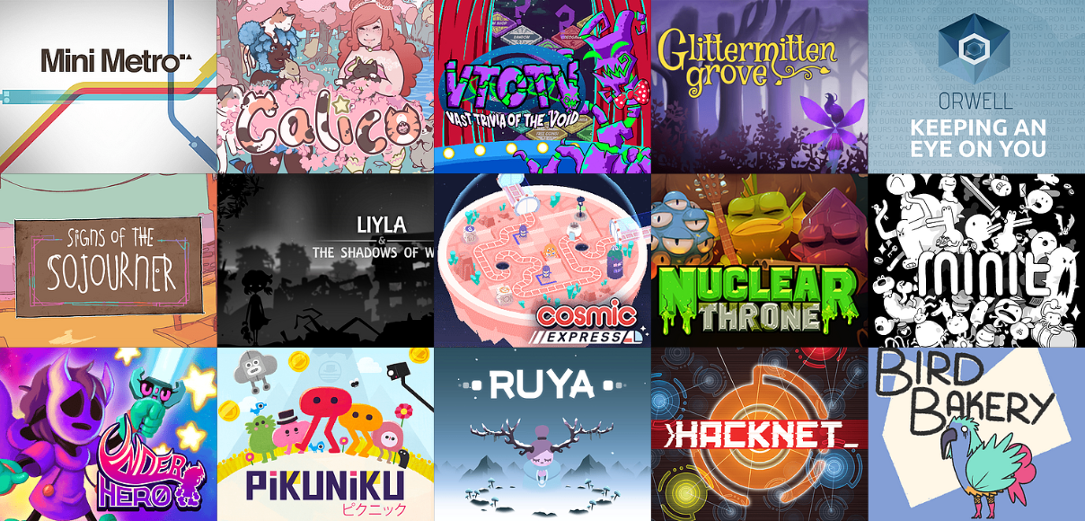 Games from Indie Bundle for Palestinian Aid