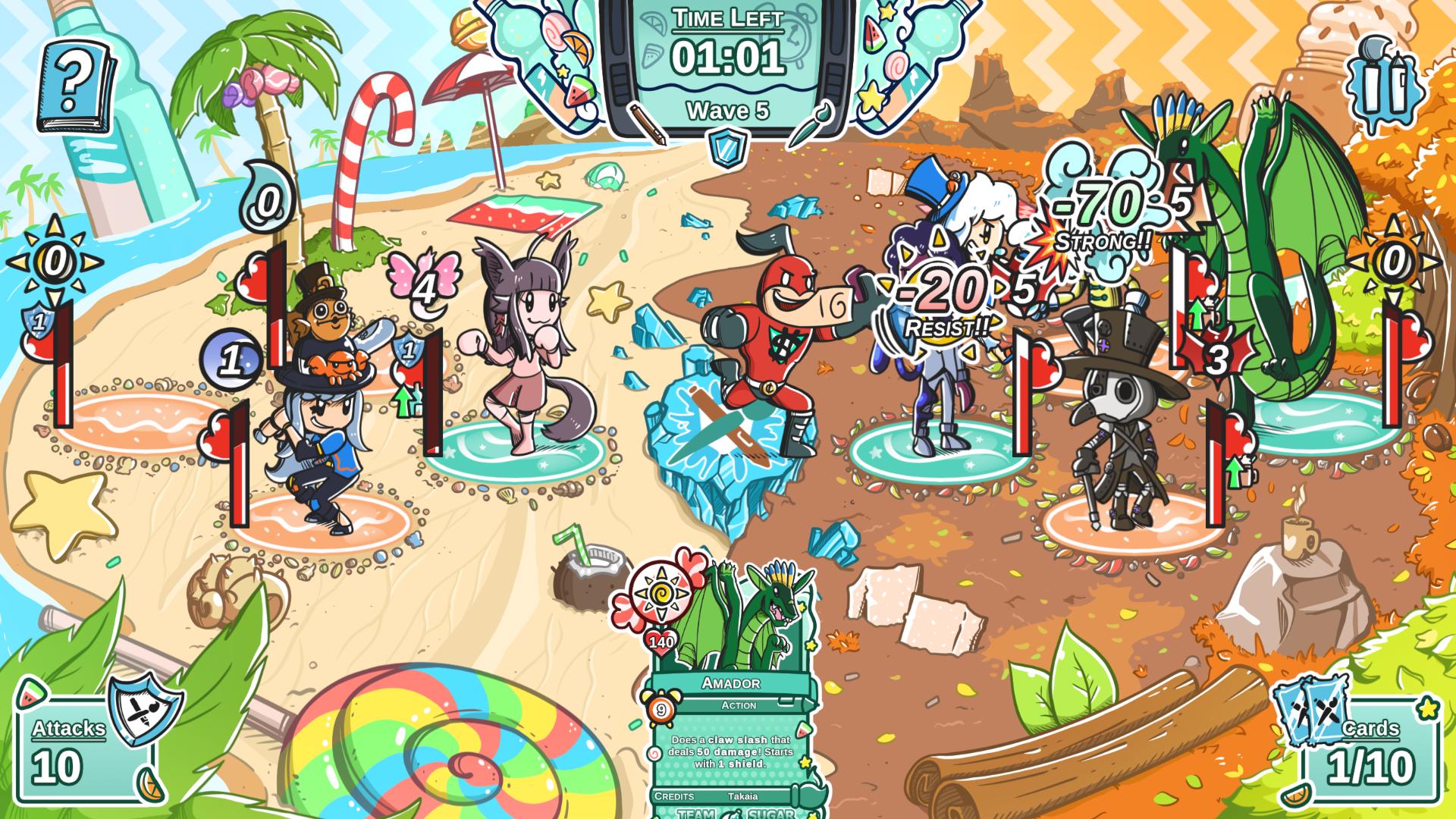 Art Fight Duel Screenshot from Last Year