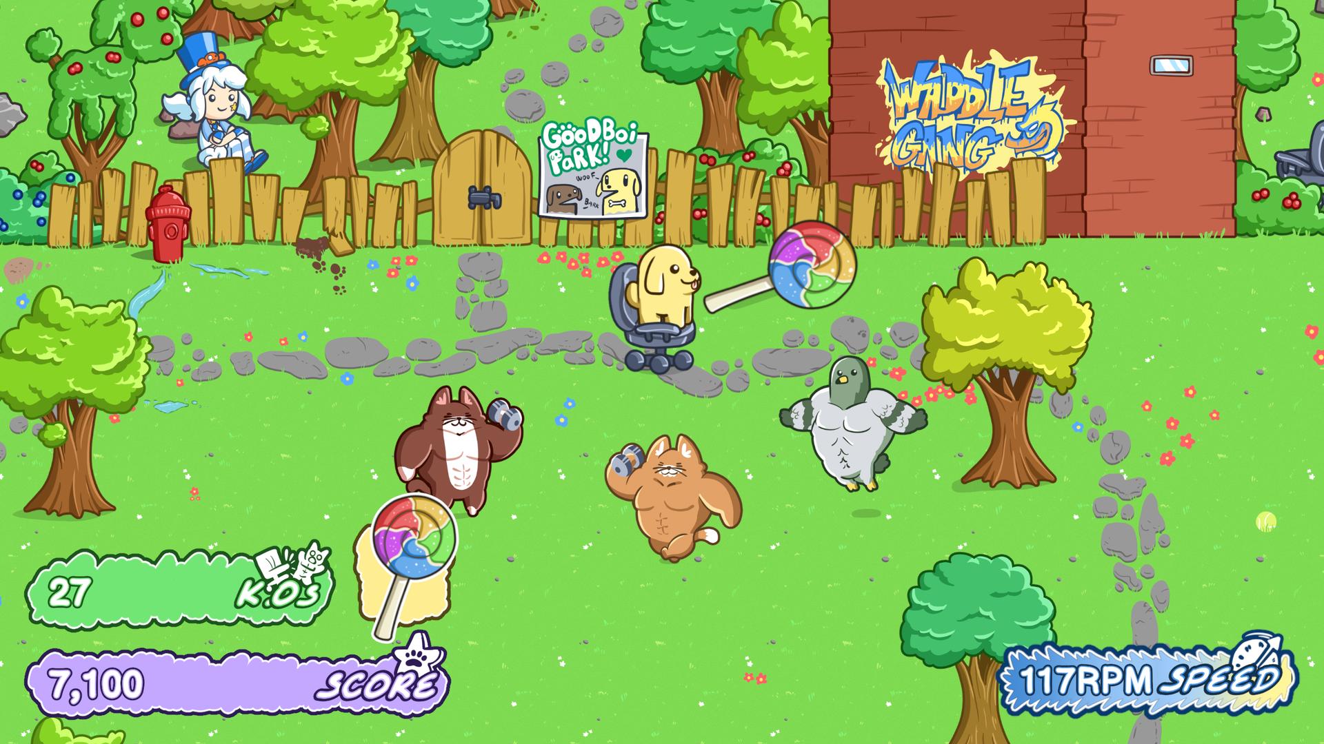 Woofice Chair Gameplay Screenshot